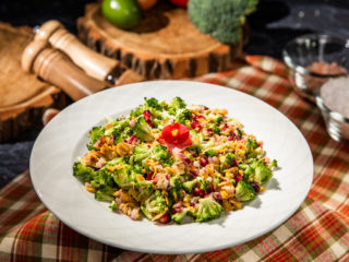 Broccoli and Pomegranate Salad