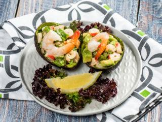 Seafood Avocado Bowls