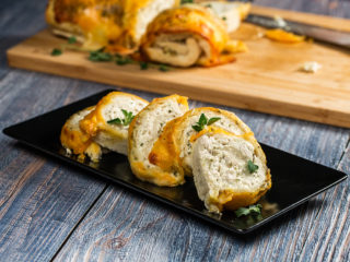 Cheesy Chicken Bread Roll