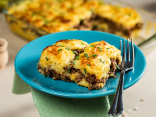 Beef and Mashed Potato Pie