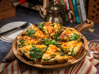 Sausage and Bell Pepper Frittata