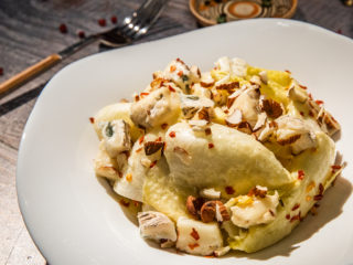 Endive and Almond Salad
