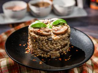 Mushroom-Barley Pilaf