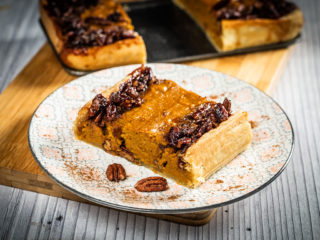 Sweet Potato Pecan Tart