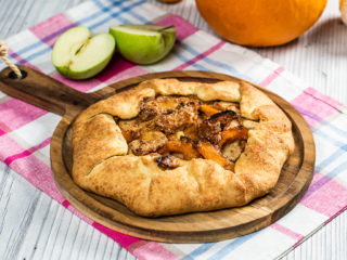 Apple and Pumpkin Galette