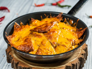 Cheesy Chicken Tortilla Bake
