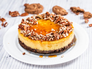 Chocolate and Butternut Squash Cheesecake