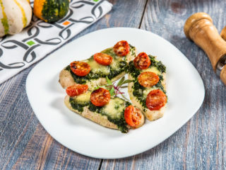 Pesto and Bocconcini Chicken