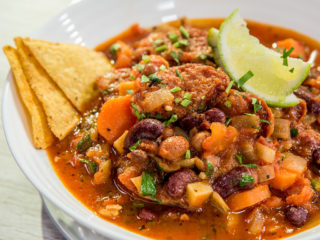 Chorizo and Bean Bowl