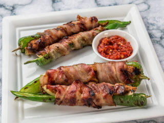 Chicken, Jalapeno and Bacon Wraps