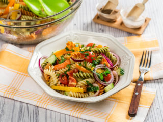 Fusili Pasta Salad with Avocado Dressing