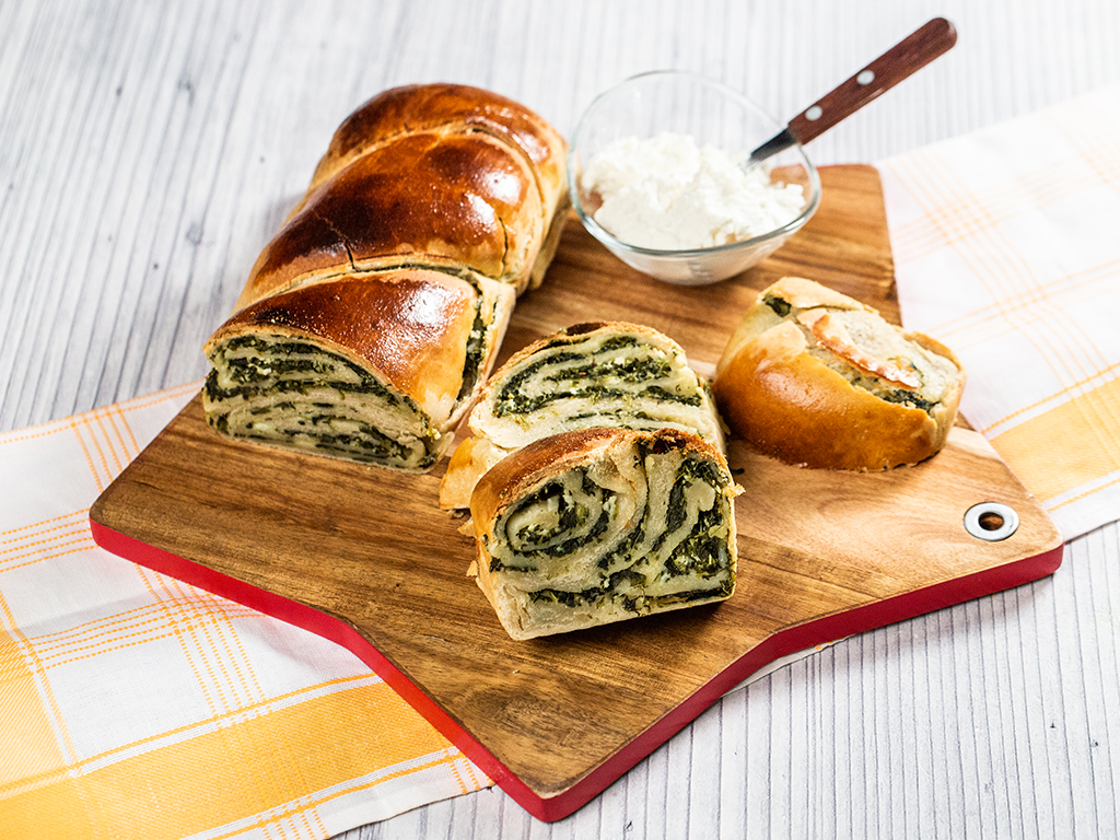 Spinach and Cheese Bread