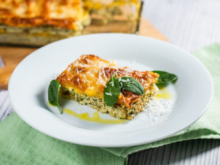 Extra-Cheesy Lasagna with Chanterelle Mushrooms