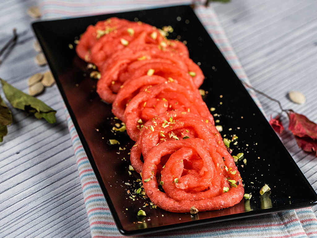 Sweet Indian Pretzels (Jalebi)