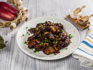 Asian Hot Chicken Wings