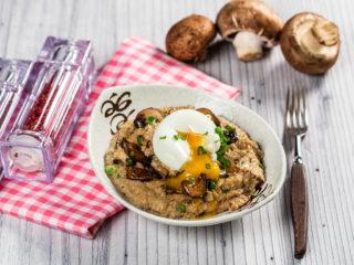 Ginger Mushroom Oatmeal