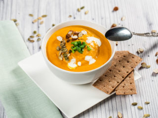 Carrot and Sweet Pepper Soup