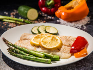 Parchment-Baked Pangasius