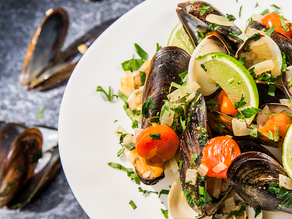 Clam and Mussel Stew