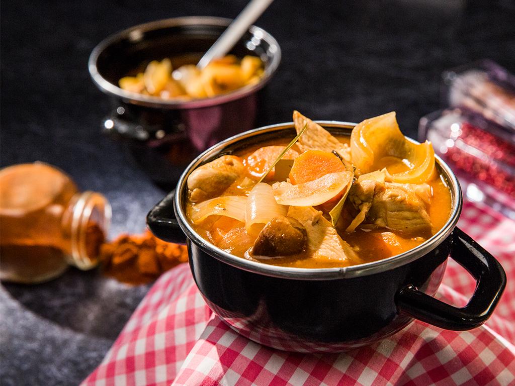 Mushroom and Chicken Stew