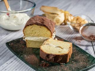 Caramel Banana Loaf Cake