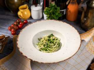 Herb Zoodles with Ghee