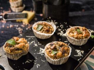 Mushroom Frittata Muffins