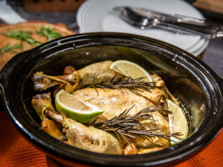 Slow Cooker Rosemary Lemon Chicken