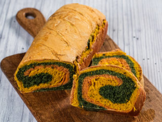 Tri-Colored Bread