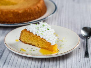 Orange and Almond Polenta Cake