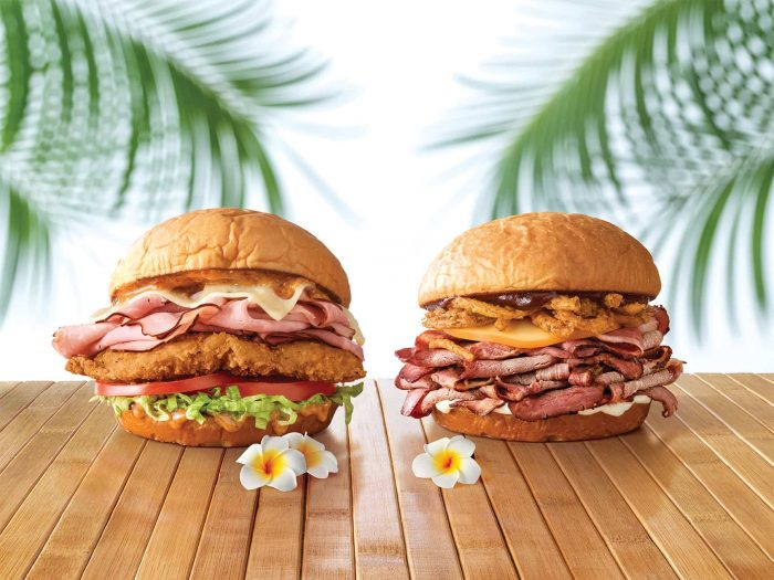 Arby's Unleashes Massive King's Hawaiian Sandwich Lineup -
