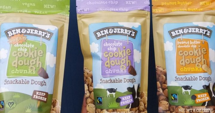 Ben & Jerry's Cookie Dough Is Now In Bite-Sized Snack Form