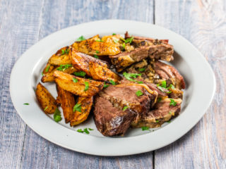 Beef Brisket with Onion and Liver Stuffing