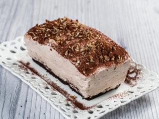 Cocoa and Walnut Cream Cake