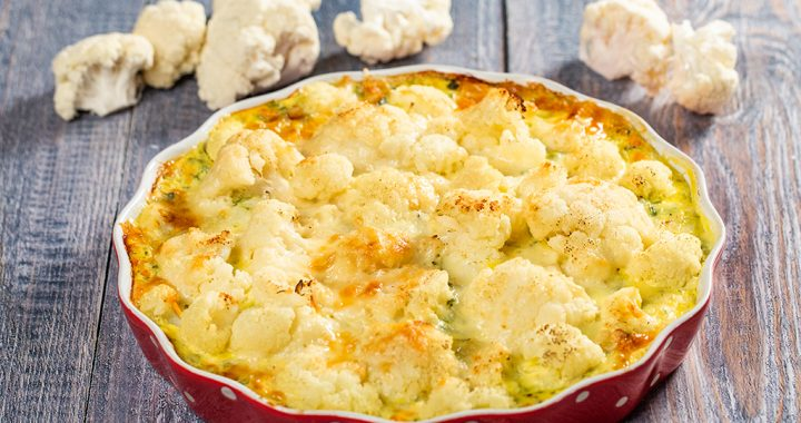 Cauliflower and Potato Tart