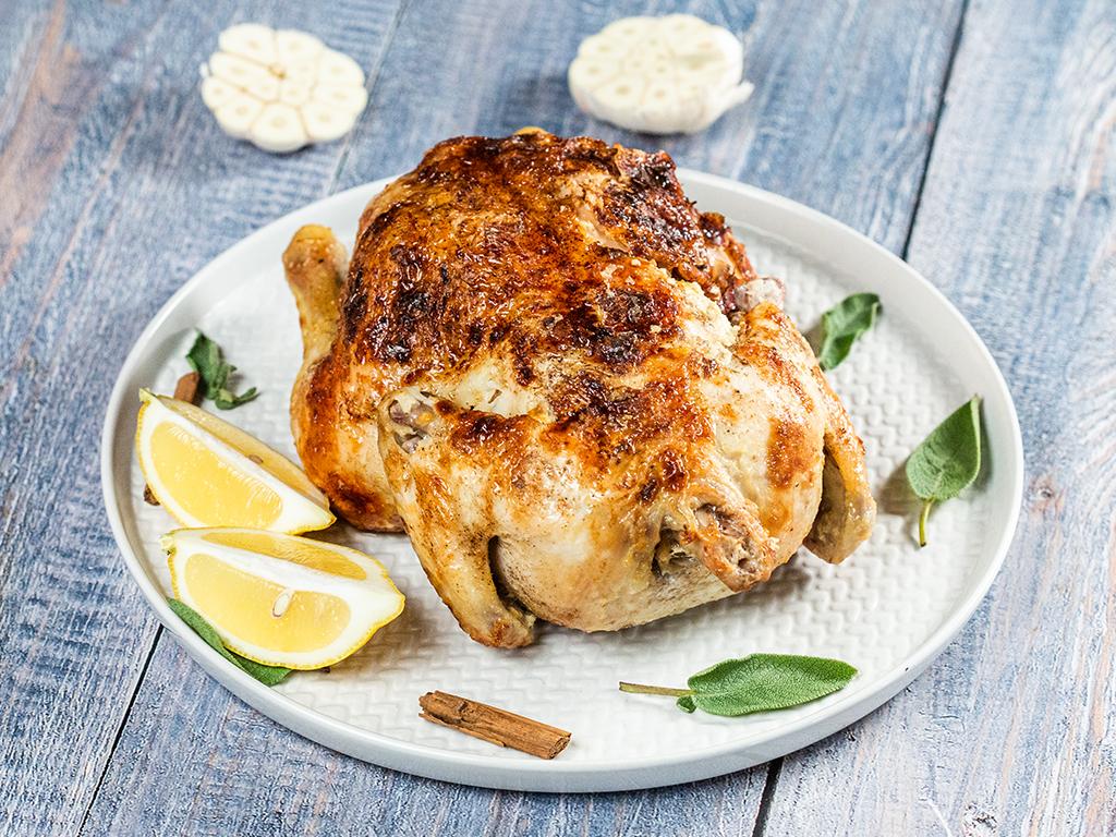 Chicken Cooked in Milk