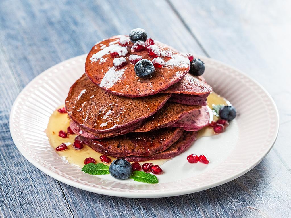 Beetroot Pancakes