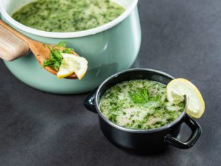 Oyster Mushroom and Cashew Soup