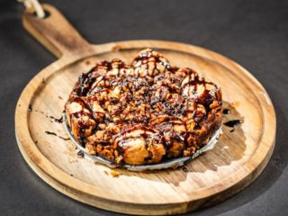 Chocolaty Monkey Bread with Walnuts
