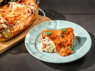 Cheesy Pork Cannelloni