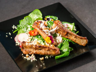 Pork Ribs With Couscous Salad