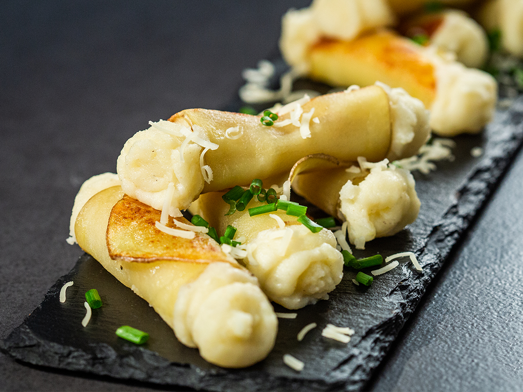 Potato Cannoli