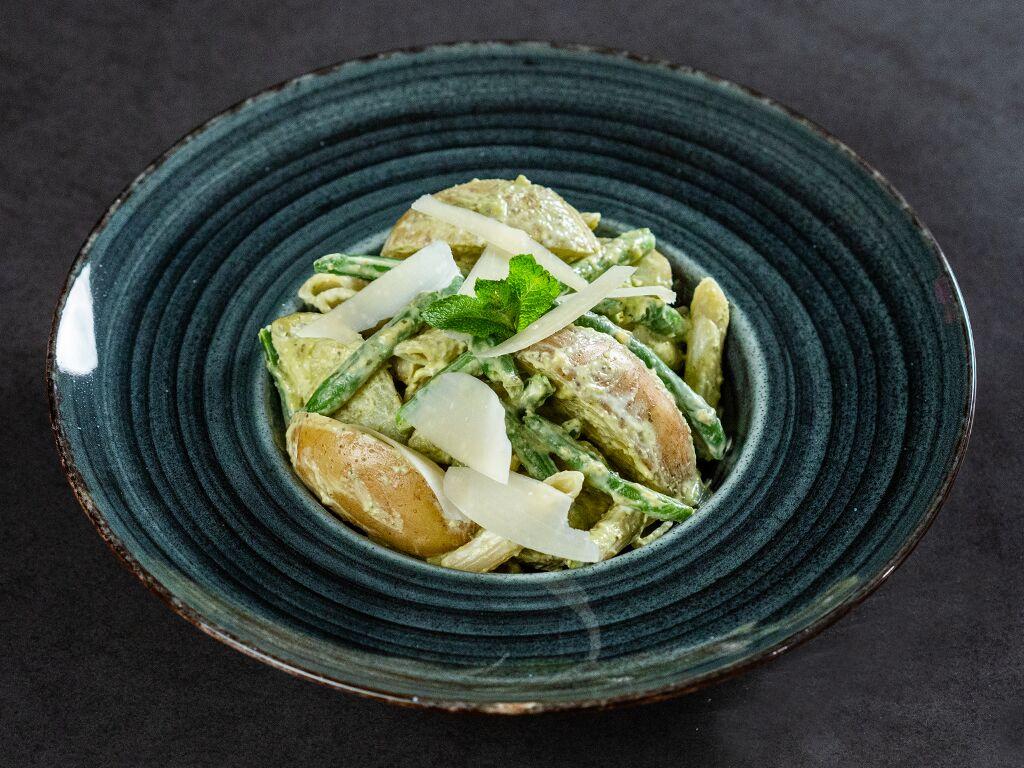 Green Bean and Potato Pasta Salad