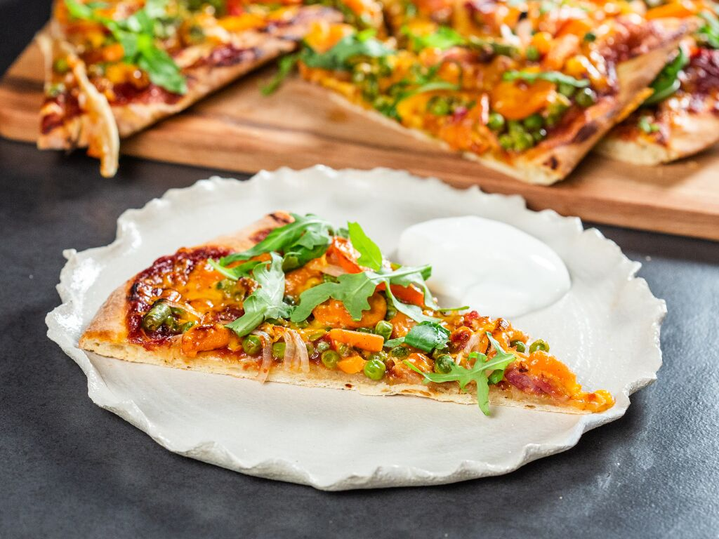 Hot Mexican Pizza