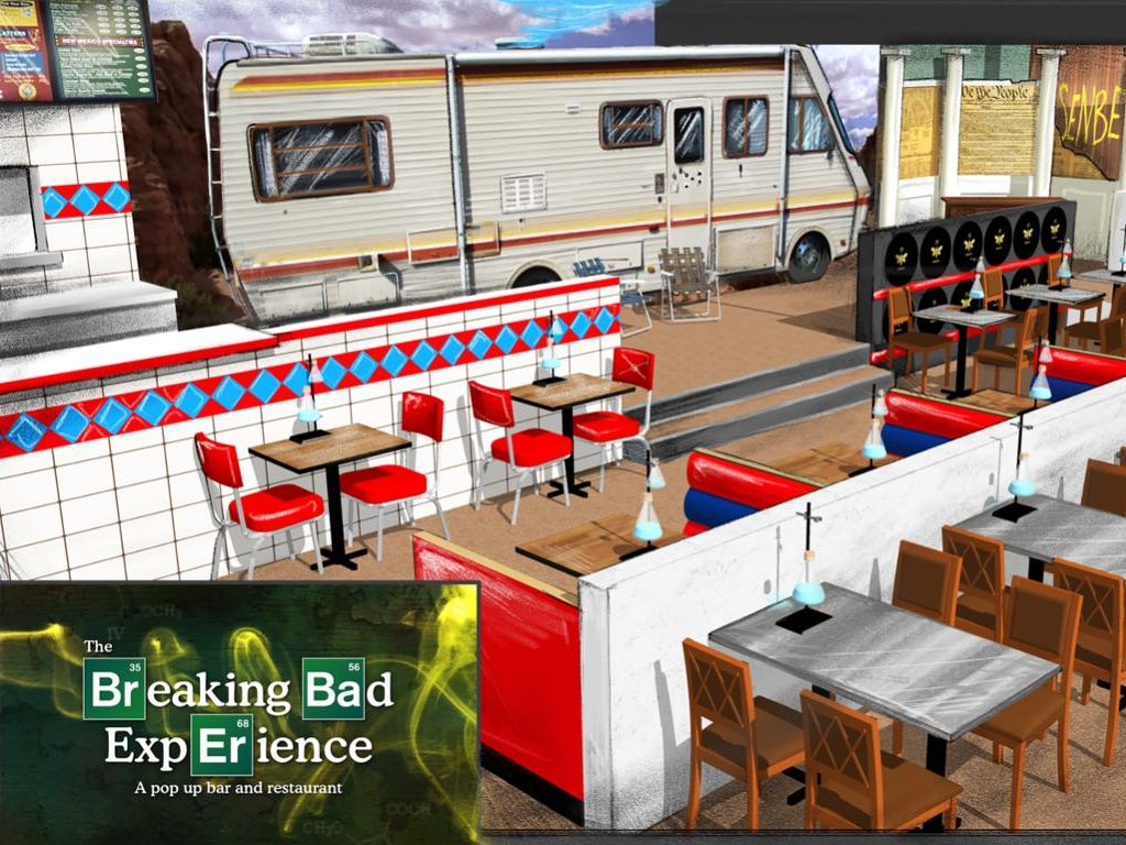 This Breaking Bad-Themed Restaurant Is Like Stepping Into Heisenberg's World -