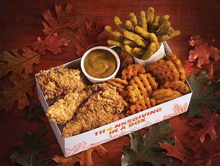 Hardee's Has A New Seasonal Meal Called Thanksgiving In A Box -