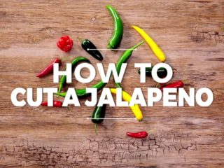 How to Cut a Jalapeno Two Ways