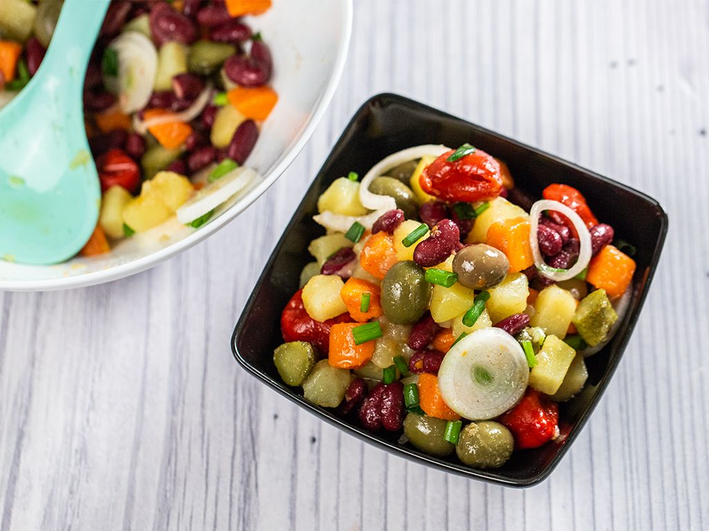 Potato-Bean-and-Olive-Salad