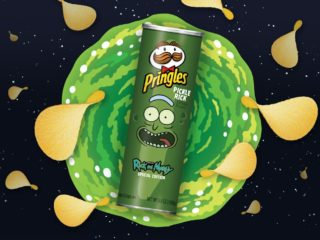 Pickle Rick Pringles