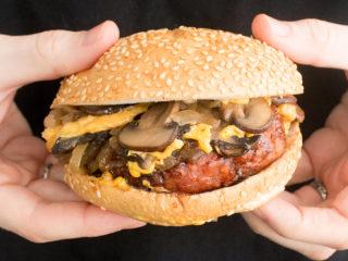 Non-meat burger